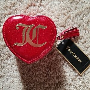 NWT Juicy Couture make up/ jewelry keeper or case